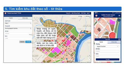 Thủ tục xin cấp thông tin quy hoạch tại UBND xã/phường