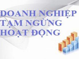 Hồ sơ thủ tục tạm ngừng hoạt động kinh doanh tại Lào Cai