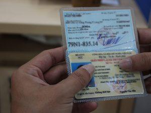 Thủ tục cấp lại đăng ký xe máy bị mất