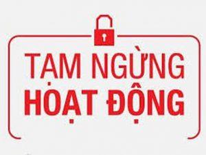 Hướng dẫn thủ tục tạm ngừng kinh doanh tại Hồ Chí Minh năm 2021