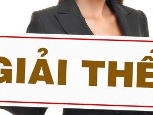 Tìm hiểu về giải thể doanh nghiệp theo pháp luật hiện hành